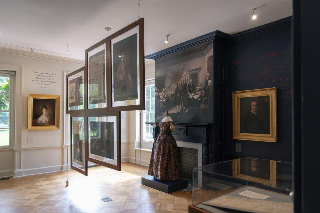One of Morven's Permanent Exhibition galleries