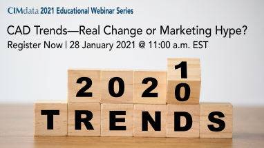 Learn about CAD Trends in a new CIMdata webinar