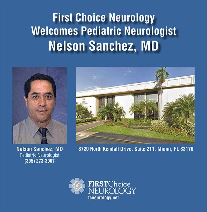 Miami Pediatric Neurologist Nelson Sanchez Md