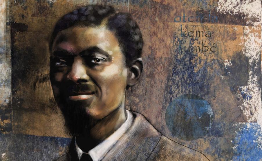 Lumumba Portrait