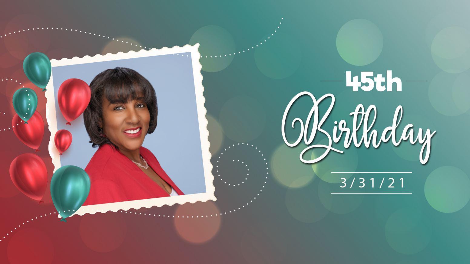 Sharifah Hardie's 45th Birthday Celebration