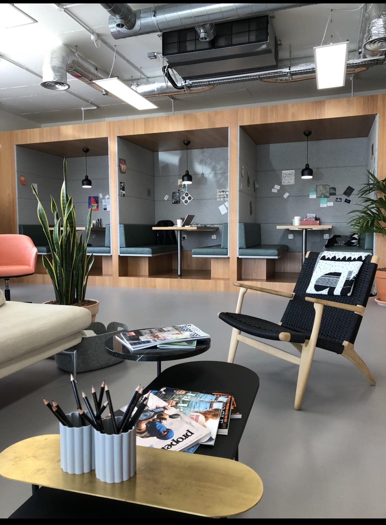 Digital Marketing Agency London Office Empty
