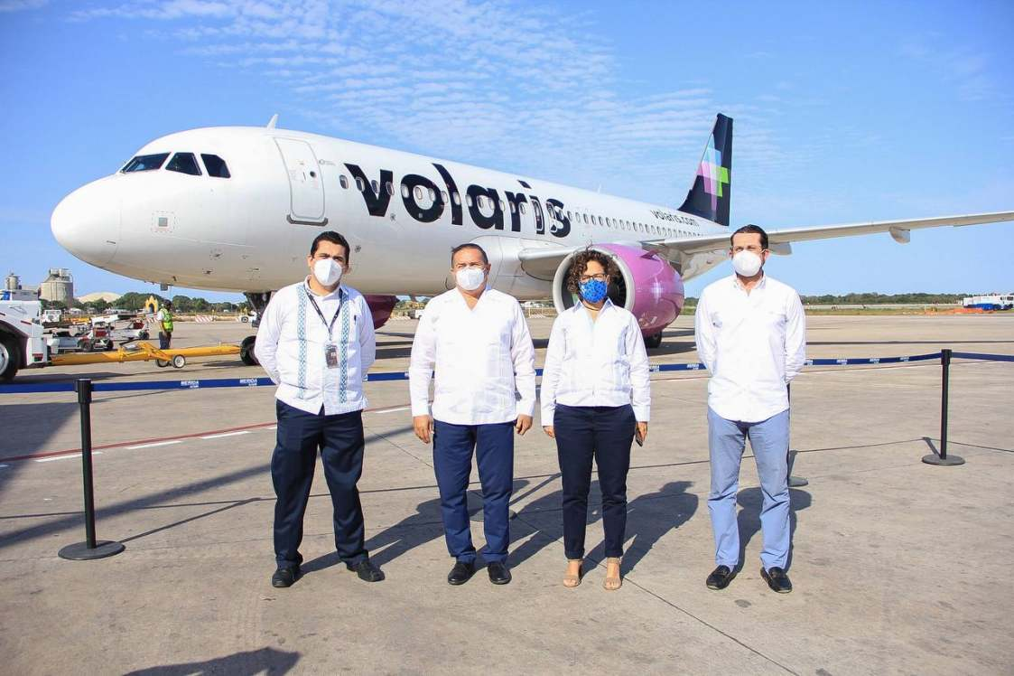 Volaris Connects Yucatán State and California