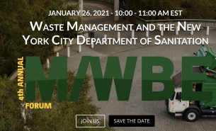 DSNY Waste Management 4th Annual MWBE Event