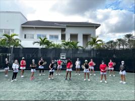 Mizner CC Women's Tennis Team