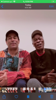 K.C. Amos and John Amos Viral TikTok Video