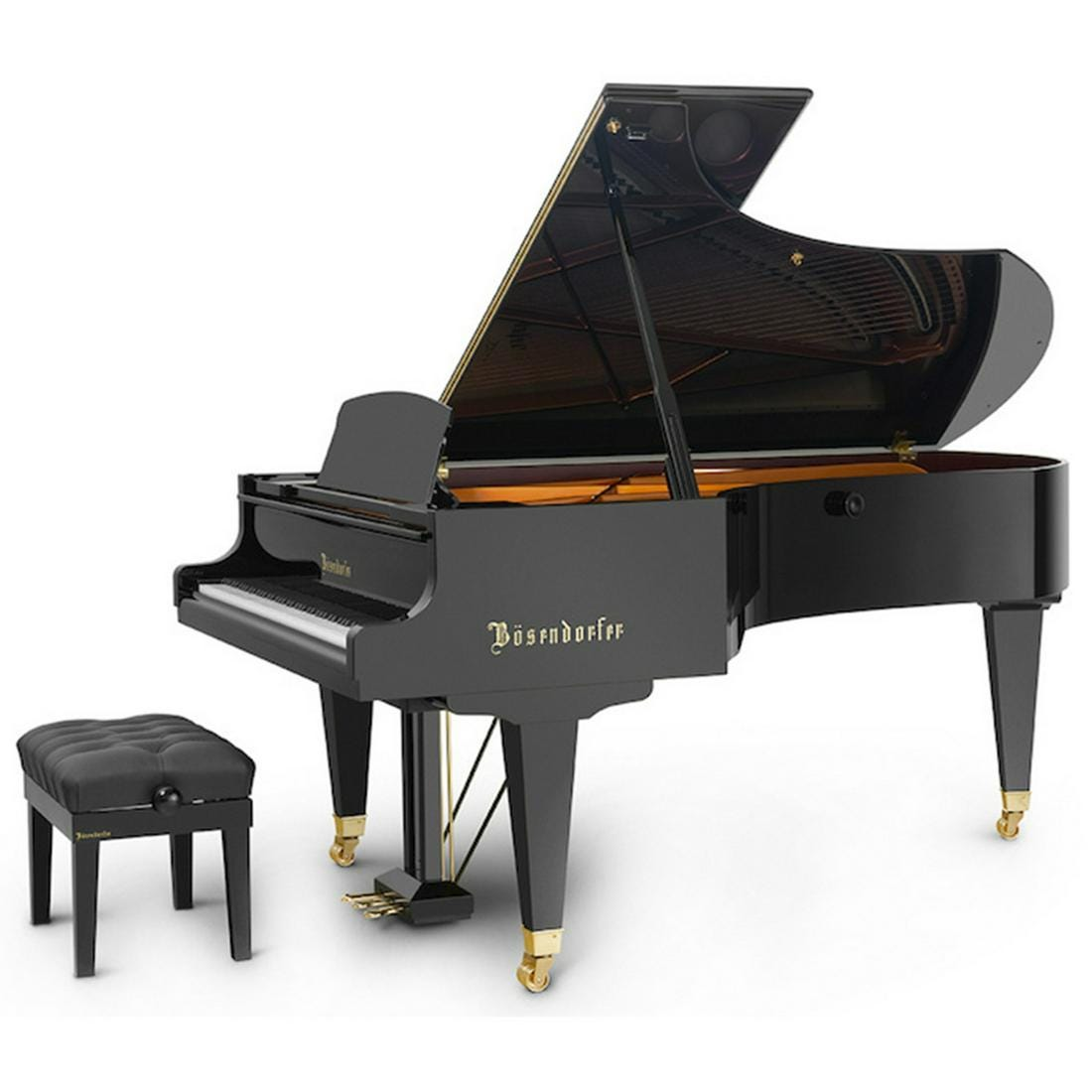 Bosendorfer grand piano (model 225, serial #37277)