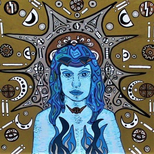 Sara Gately, Cerridwen, Welsh Goddess Of Creativit