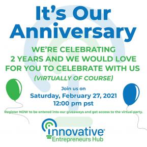Innovative Entrepreneurs Hub 2nd Anniversary