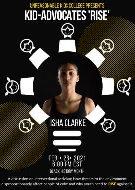 Isha Clarke Flyer
