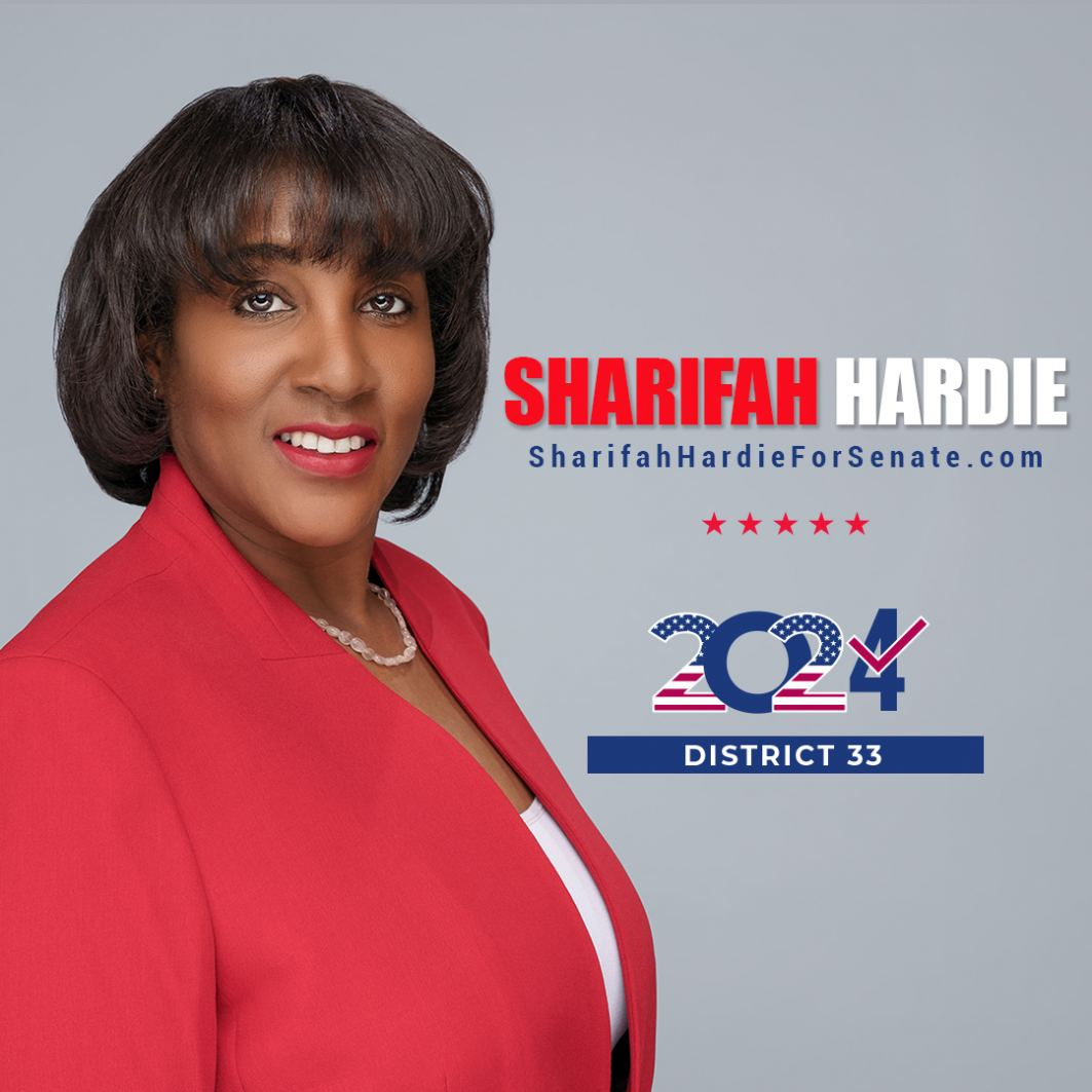 Sharifah Hardie for CA Senate 2024