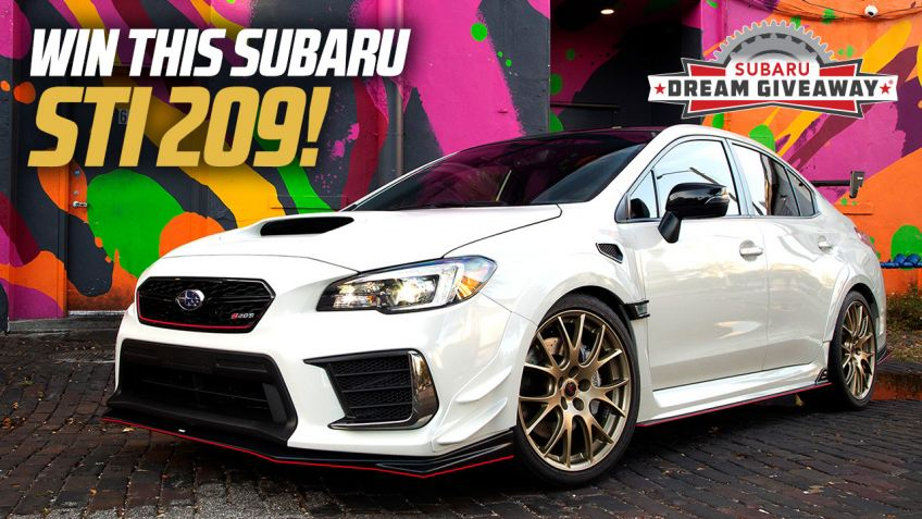 Win this Subaru STI S209 #153 of only #209 made!