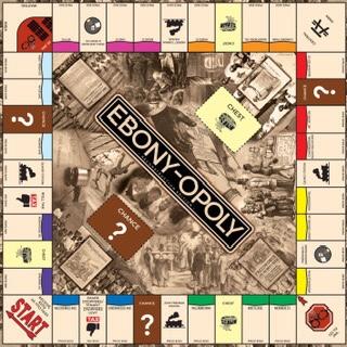 EBONY-OPOLY Board Game