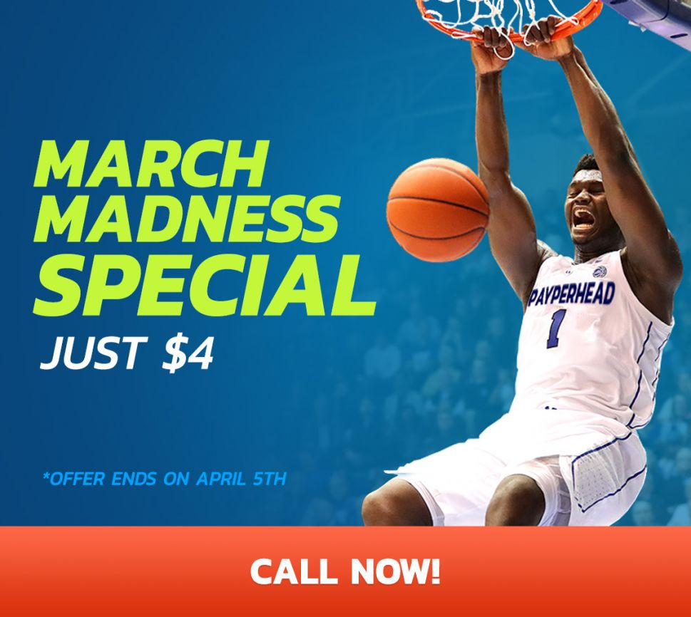 March Madness Special - Just $4