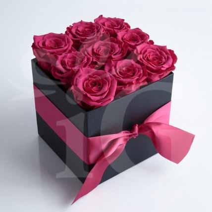 Beautiful Box Of Red Roses