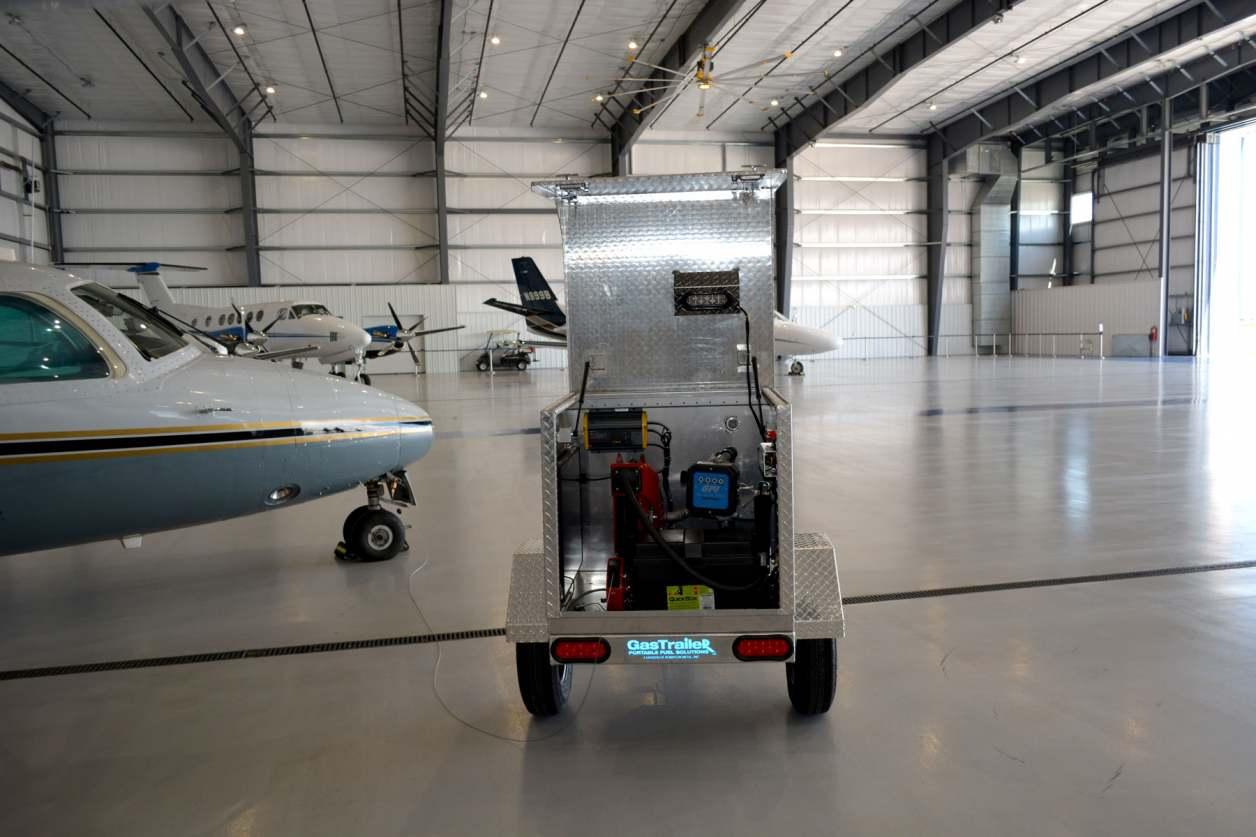 Gas Trailer Portable Fuel Tank Trailer
