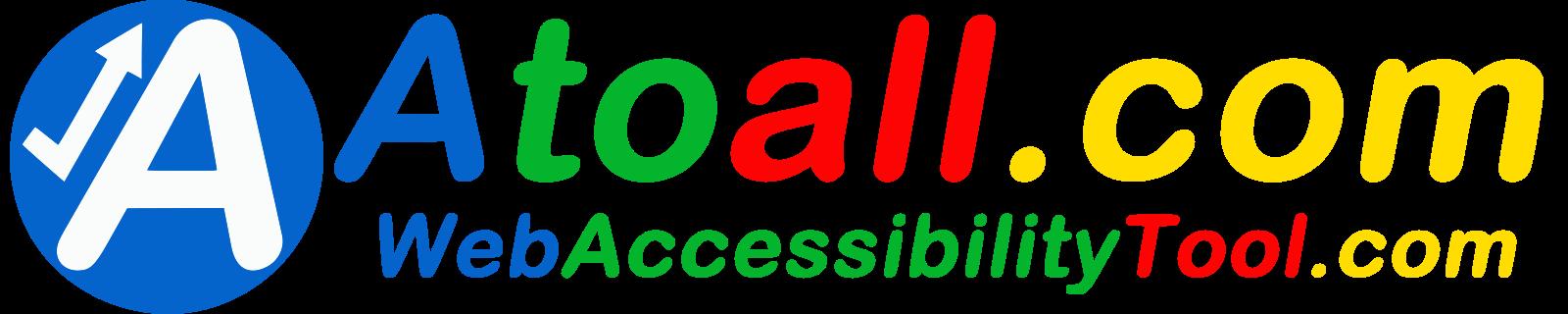 Atoall web Accessibility tool logo
