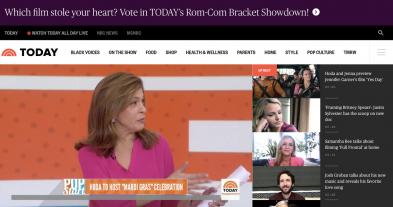 NBC's Hoda Kotb Hosts Mardi Gras for All Ya'll