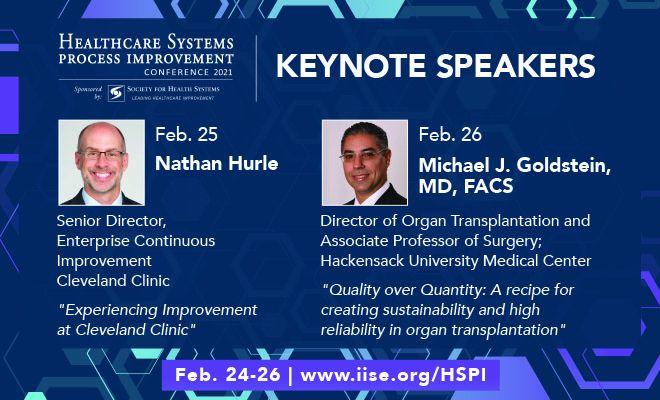 Keynote speakers at virtual #HSPI2021 Conference.