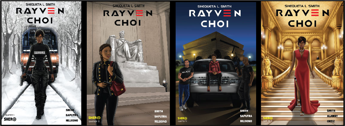Rayven Choi Book Covers