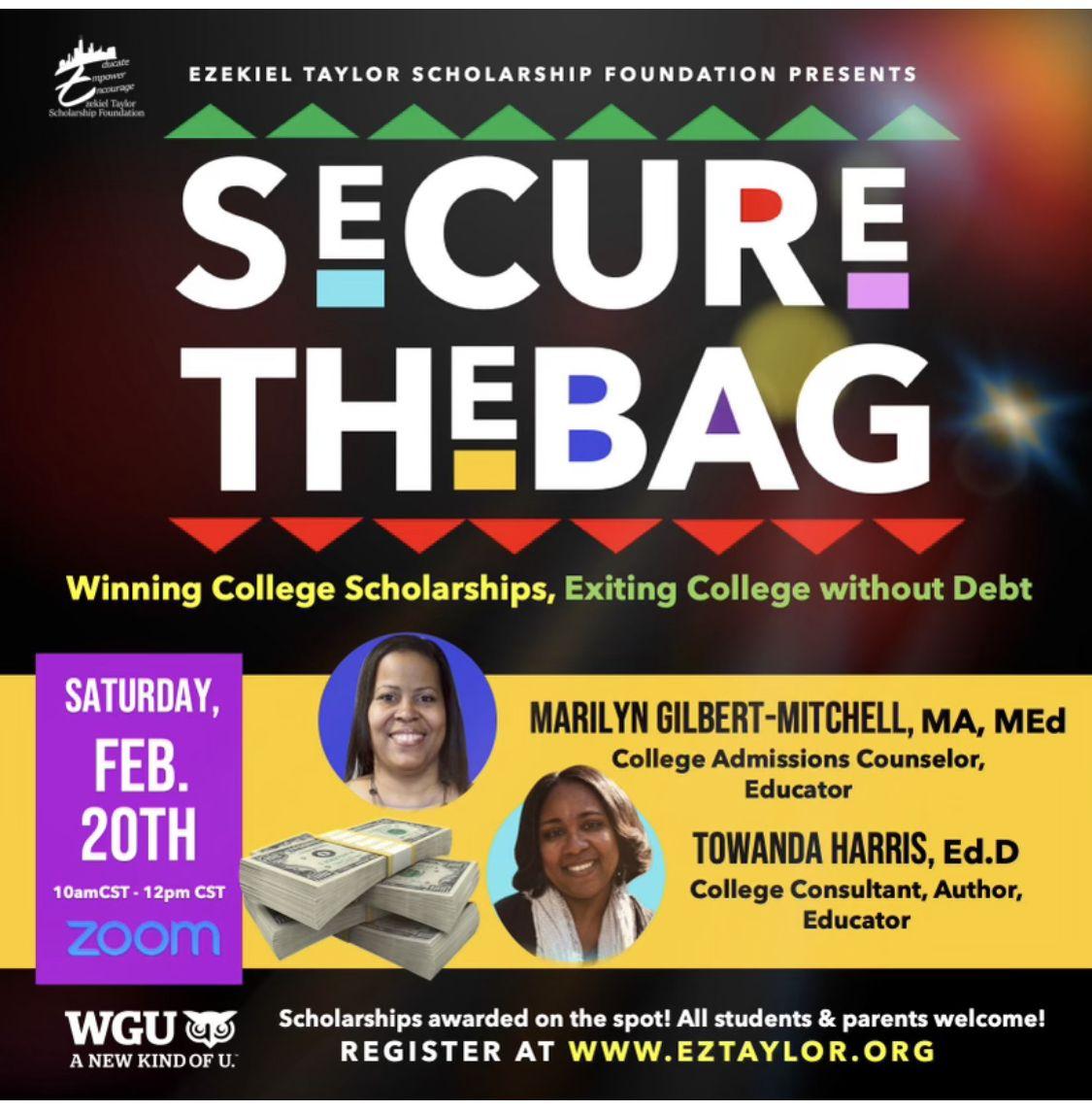 Eztaylor Secure The Bag Flyer