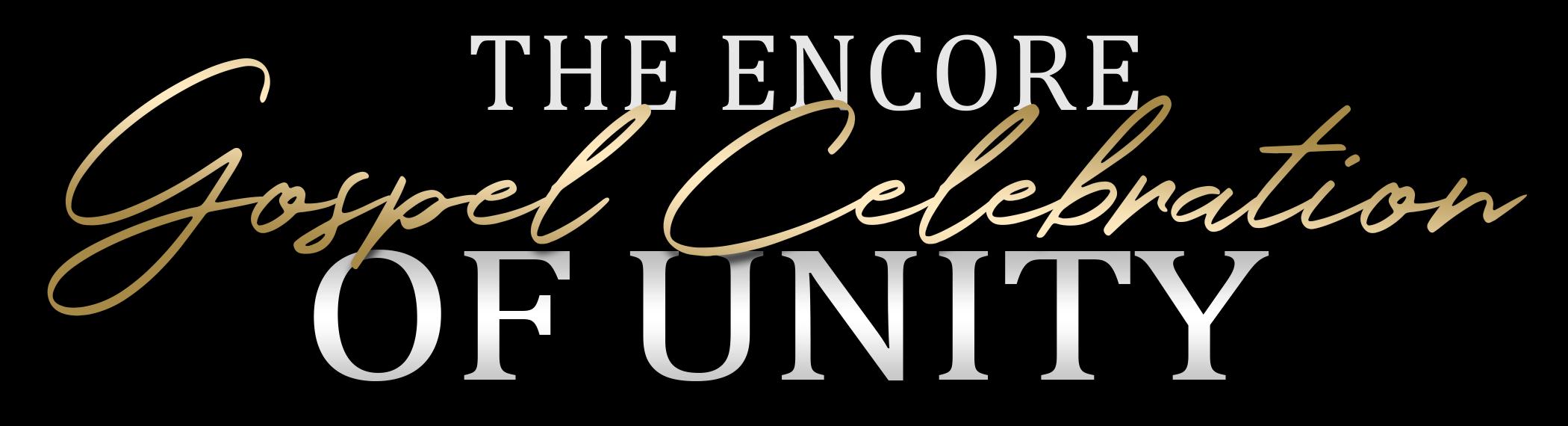 Encore Gospel Celebration logo