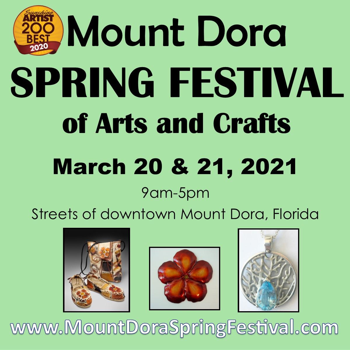 Mount Dora Spring Festival Square 2021