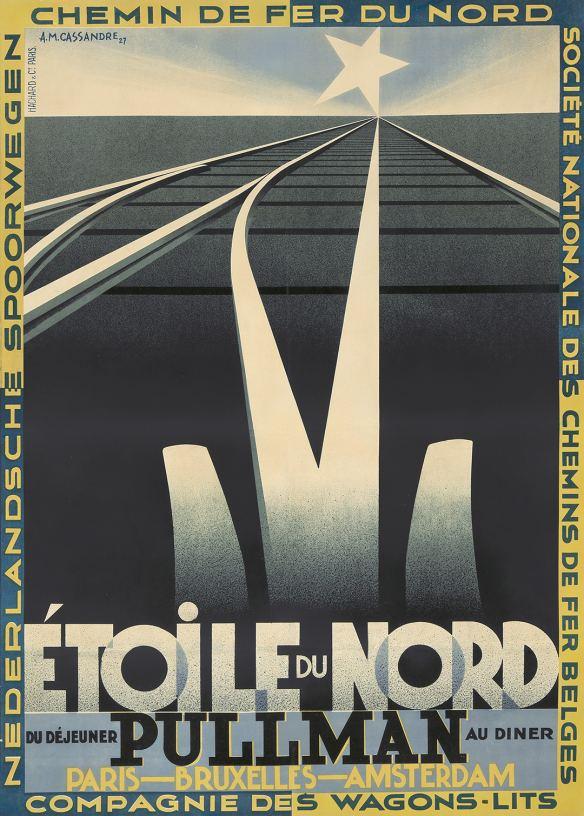 A. M. Cassandre, Étoile du Nord (1927).