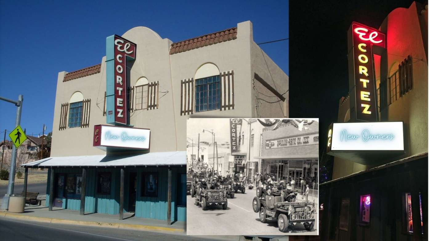 El Cortez Theatre in New Mexico Sold