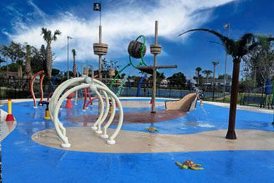 Splash Pads Water Parks