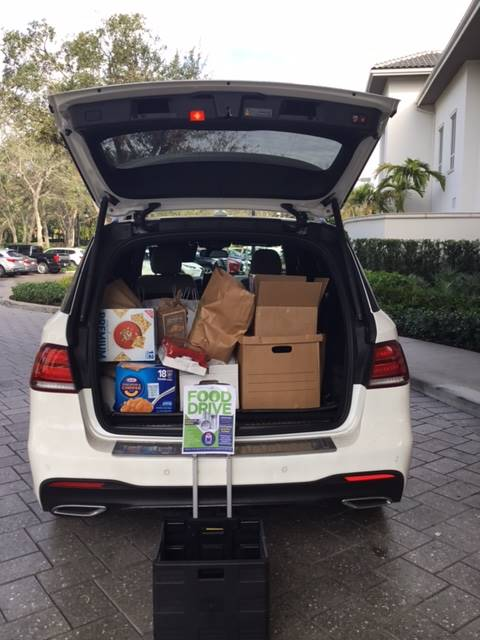 Mizner Cares Food Drive