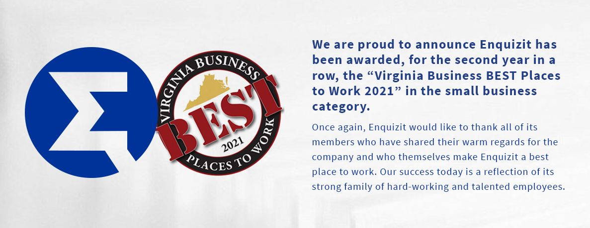 Virginia Business Best Places To Work 2021