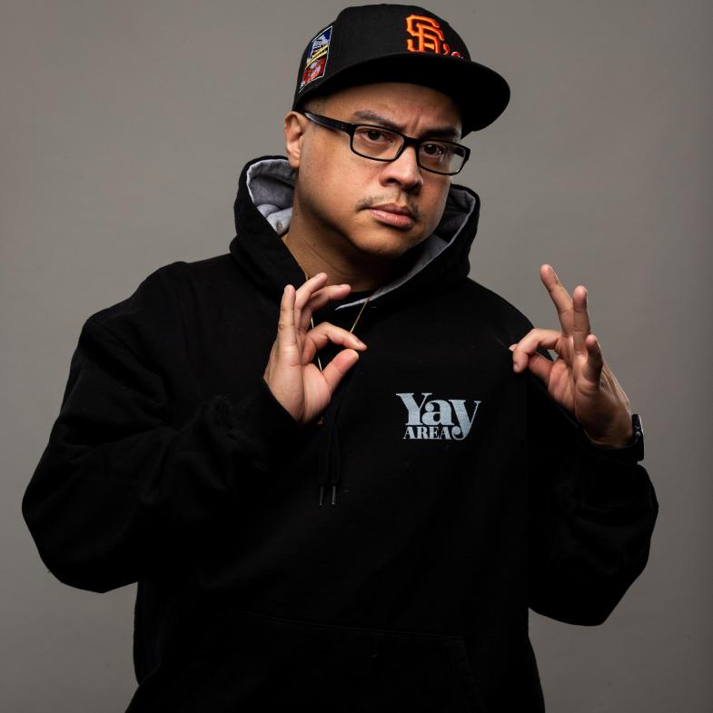 "Radio Bassment Host: Eric ""E-Rock"" Nagrampa"
