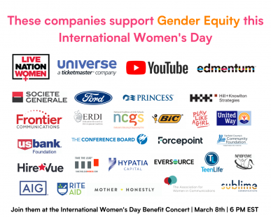 International Women's Day Sponsors