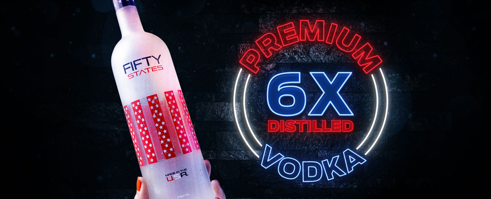 Fifty States of Vodka