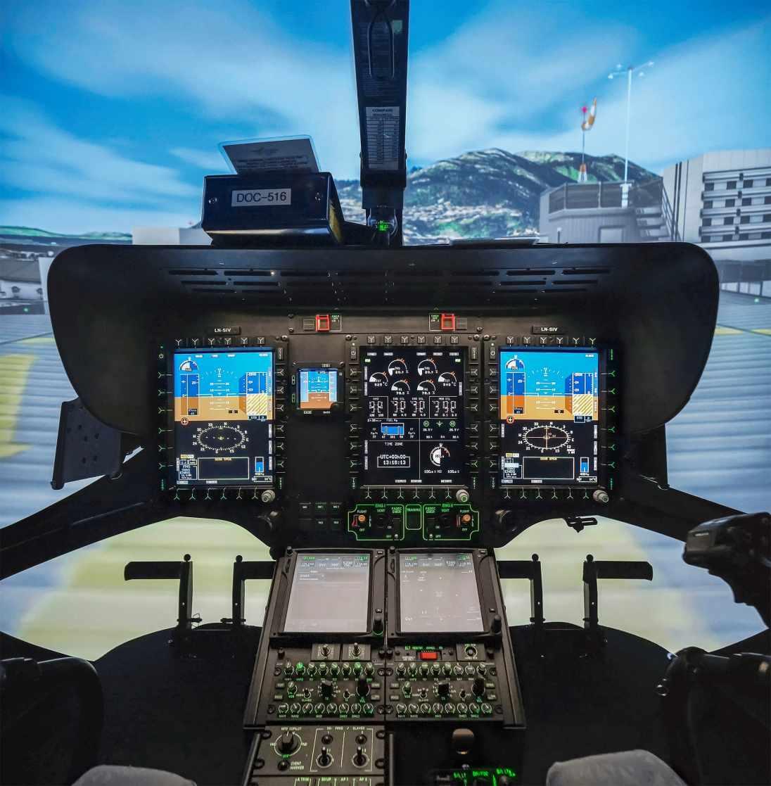 Level D Full Flight Simulator