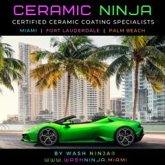 Wash Ninja® Mobile Ceramic Coatings South Florida