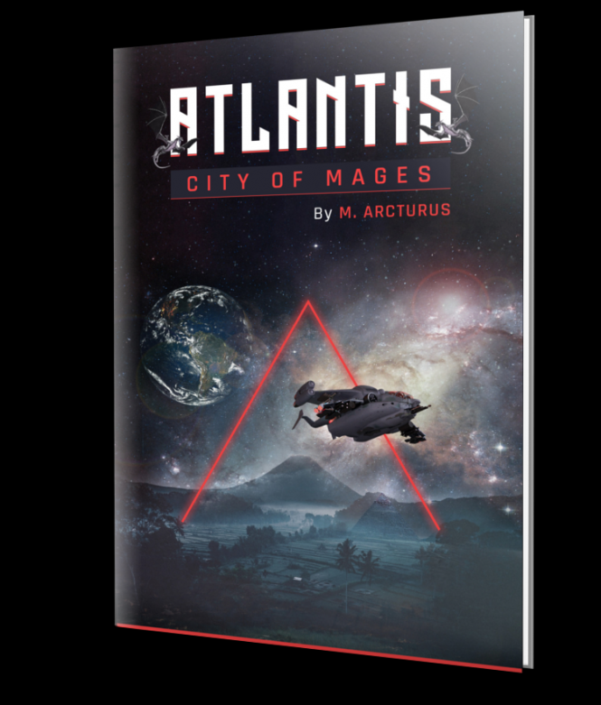 Atlantis City of Mages Book