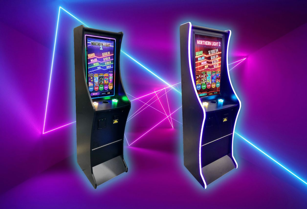 New vertical screen gaming machine models