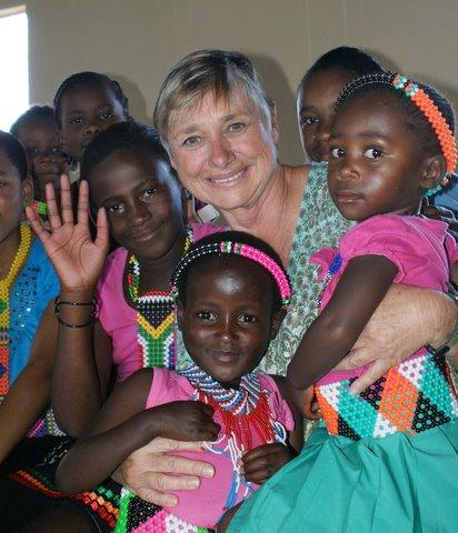 Joanne Baker With Kids