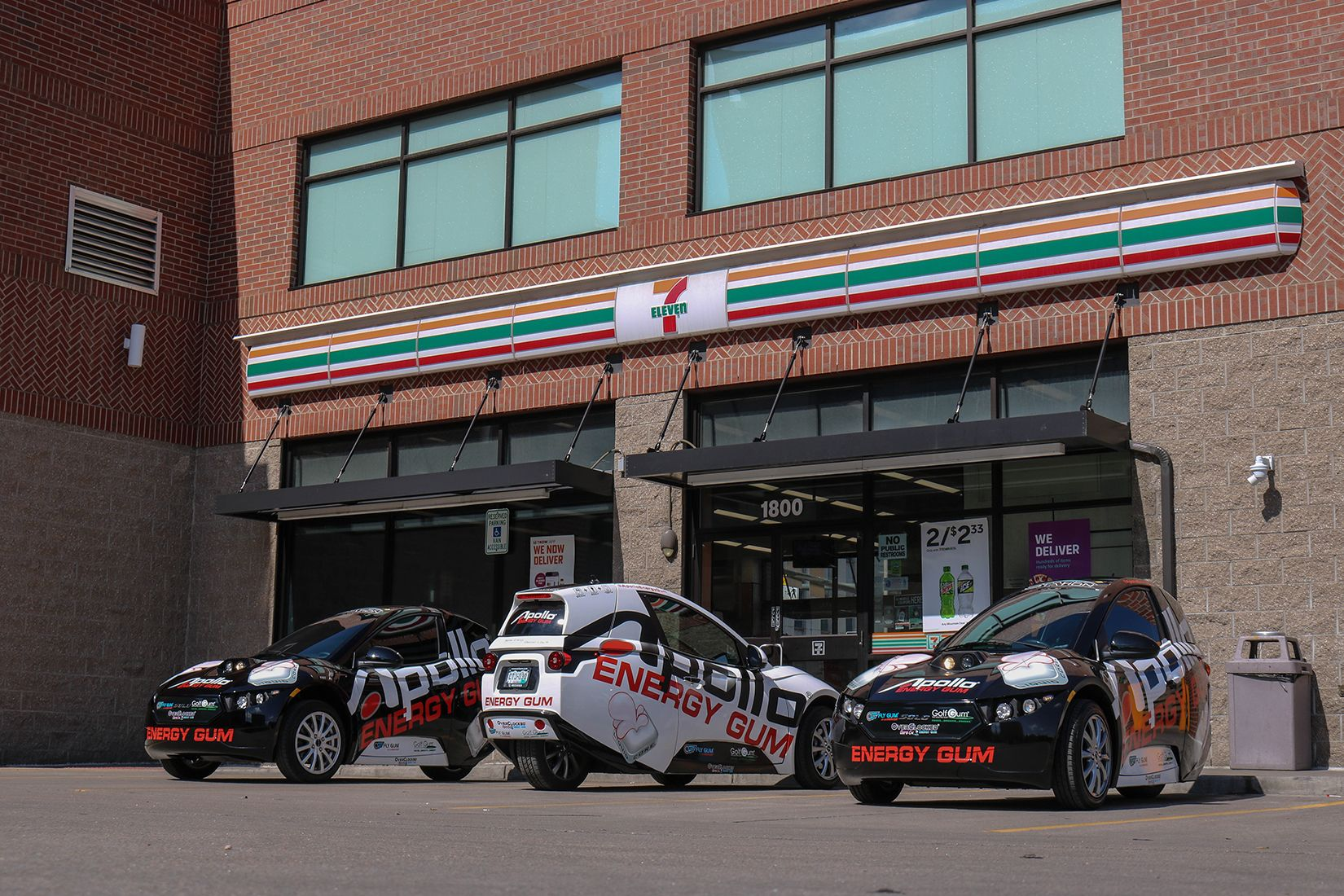 Apollo® SOLO Emission-free Fleet at 7-11