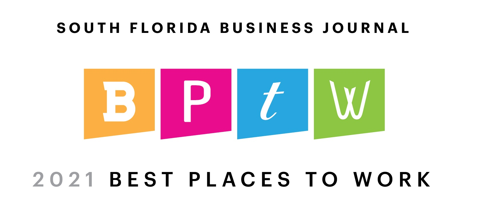South Florida Business Journal 2021 Award