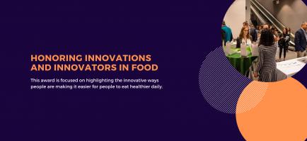 Awards To Honor Food Innovators