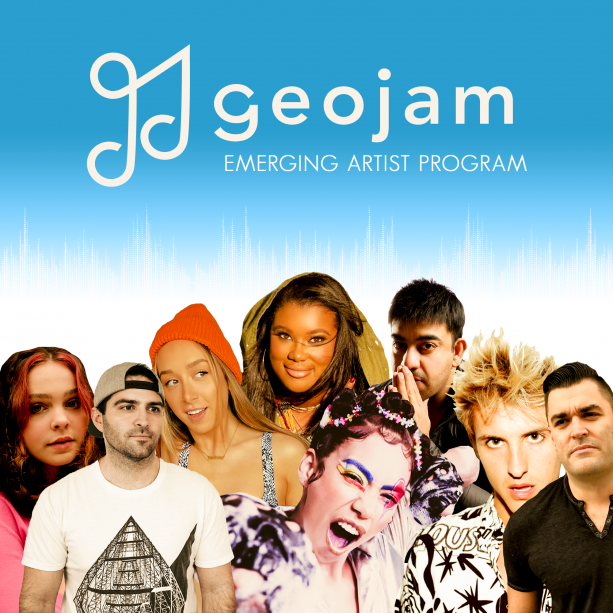 Geojam Emerging Artist Flyer