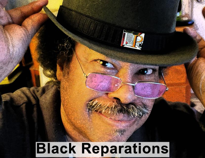 LP Black Reparations Cover