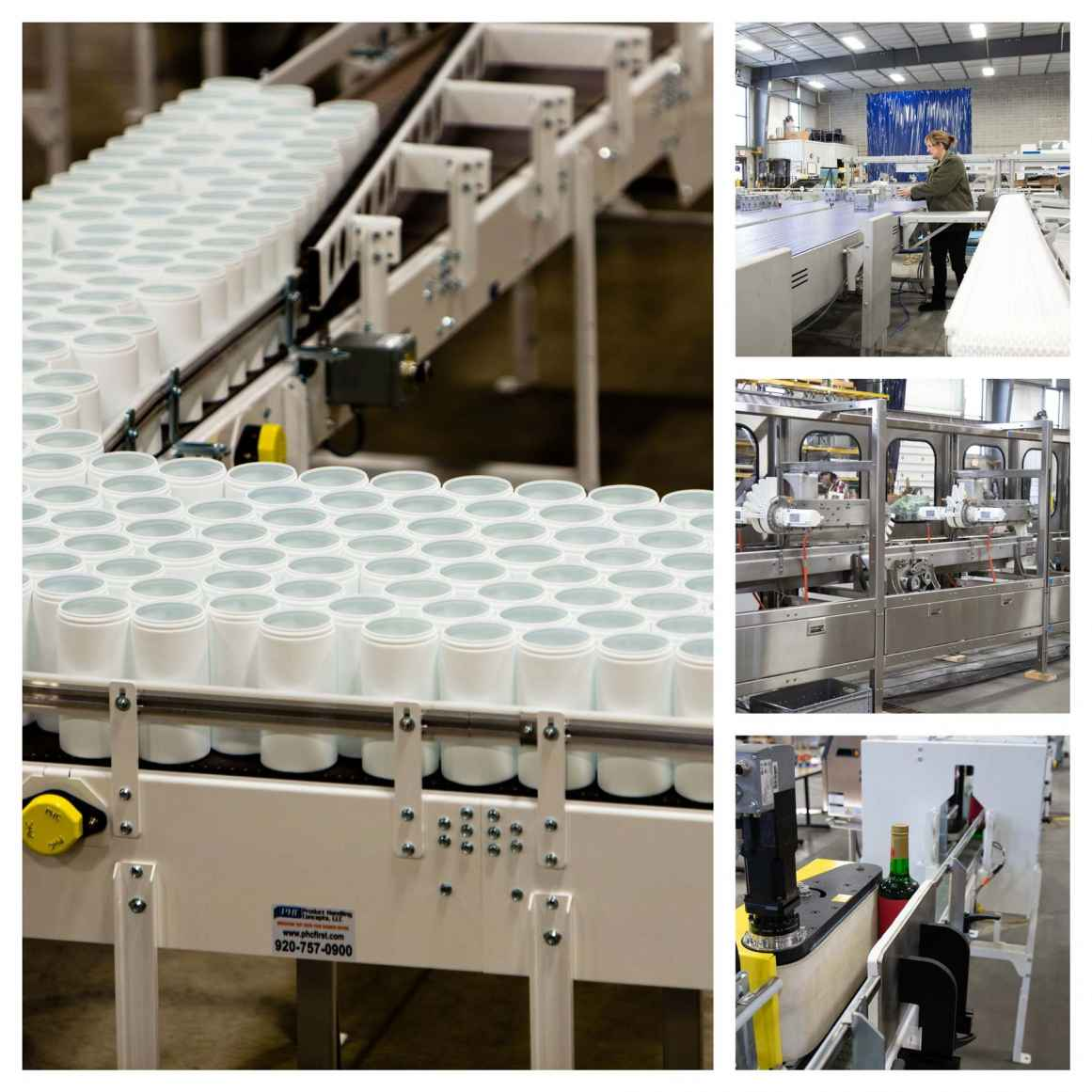 Robinson product handling automation