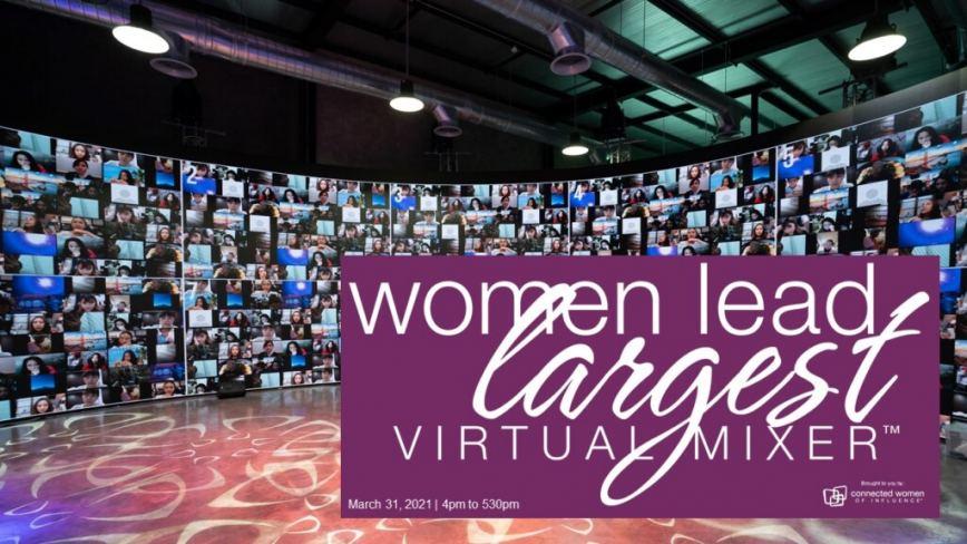 Women Lead Largest Virtual Mixer