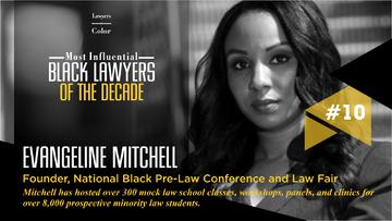 Evangeline Selected Among Top 10 Lawyers