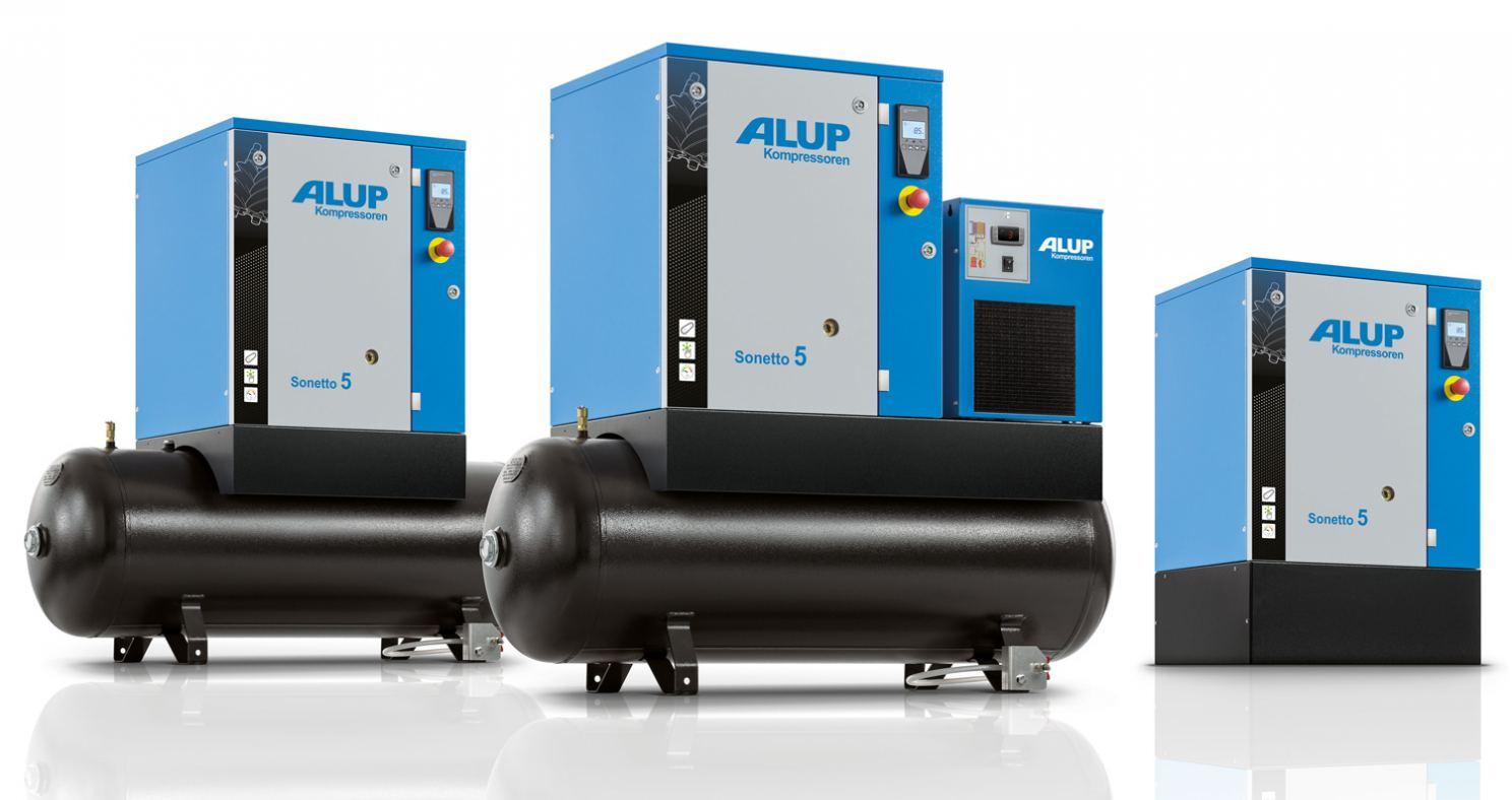 Alup's new C43 Sonetto compressor range.