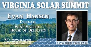 Solar policy panel to feature VA & WV Delegates.